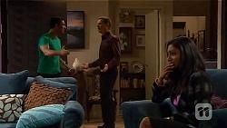 Ajay Kapoor, Paul Robinson, Priya Kapoor in Neighbours Episode 6591