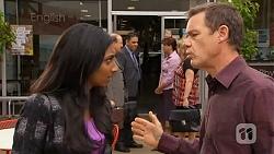 Priya Kapoor, Paul Robinson in Neighbours Episode 6591