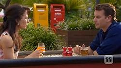 Vanessa Villante, Lucas Fitzgerald in Neighbours Episode 6591