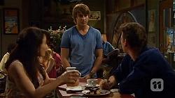 Vanessa Villante, Mason Turner, Lucas Fitzgerald in Neighbours Episode 6591