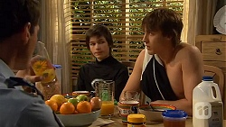 Matt Turner, Bailey Turner, Mason Turner in Neighbours Episode 6592