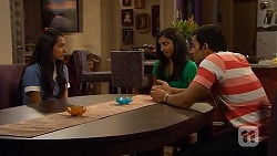 Rani Kapoor, Priya Kapoor, Ajay Kapoor in Neighbours Episode 6592