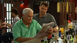 Lou Carpenter, Lucas Fitzgerald in Neighbours Episode 6592