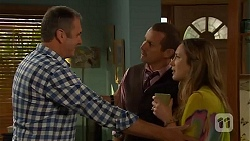 Karl Kennedy, Toadie Rebecchi, Sonya Mitchell in Neighbours Episode 6594