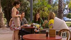 Vanessa Villante, Lucas Fitzgerald, Kate Ramsay, Sonya Rebecchi in Neighbours Episode 6594