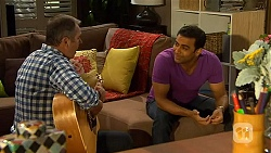 Karl Kennedy, Ajay Kapoor in Neighbours Episode 6594