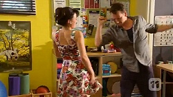 Vanessa Villante, Lucas Fitzgerald in Neighbours Episode 6594