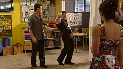 Lucas Fitzgerald, Toadie Rebecchi, Vanessa Villante in Neighbours Episode 6594