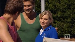 Kyle Canning, Scotty Boland, Georgia Brooks in Neighbours Episode 6594