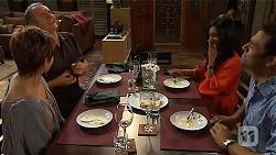 Susan Kennedy, Karl Kennedy, Priya Kapoor, Ajay Kapoor in Neighbours Episode 6595