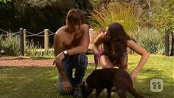Mason Turner, Bossy, Kate Ramsay in Neighbours Episode 6595