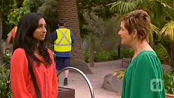 Priya Kapoor, Susan Kennedy in Neighbours Episode 6595