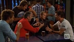 Scotty Boland, Kyle Canning, Karl Kennedy, Toadie Rebecchi, Lucas Fitzgerald in Neighbours Episode 6598