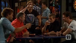 Scotty Boland, Karl Kennedy, Kyle Canning, Toadie Rebecchi, Lucas Fitzgerald in Neighbours Episode 6598