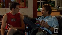 Chris Pappas, Scotty Boland in Neighbours Episode 6598