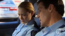 Snr. Const. Kelly Merolli, Matt Turner in Neighbours Episode 6600