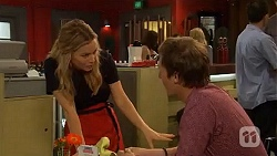 Natasha Williams, Andrew Robinson in Neighbours Episode 6600