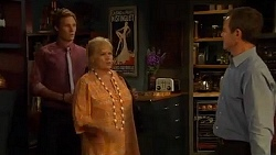 Andrew Robinson, Sheila Canning, Paul Robinson in Neighbours Episode 6600