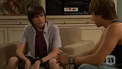 Bailey Turner, Mason Turner in Neighbours Episode 6601
