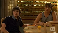 Bailey Turner, Mason Turner in Neighbours Episode 6602