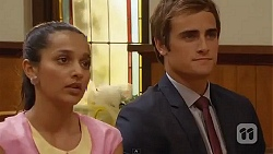Rani Kapoor, Kyle Canning in Neighbours Episode 6602