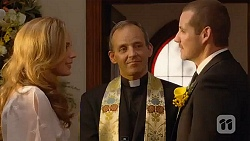 Sonya Mitchell, Minister David Fry, Toadie Rebecchi in Neighbours Episode 6602