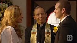 Sonya Rebecchi, Minister David Fry, Toadie Rebecchi in Neighbours Episode 6602