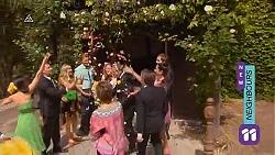 Vanessa, Lucas Fitzgerald, Georgia Brooks, Scotty Boland, Susan Kennedy, Sonya Mitchell, Toadie Rebecchi, Callum Jones, Rani Kapoo in Neighbours Episode 6602