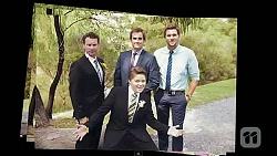 Lucas Fitzgerald, Kyle Canning, Callum Jones, Rhys Lawson in Neighbours Episode 6602