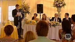 Susan Kennedy, Kyle Canning, Georgia Brooks, Vanessa Villante, Scotty Boland, Sonya Mitchell, Toadie Rebecchi, Priya Kapoor, Lucas Fitzgerald, Ajay Kapoor in Neighbours Episode 6602