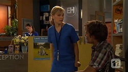 Georgia Brooks, Rhys Lawson in Neighbours Episode 6603