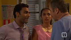 Ajay Kapoor, Rani Kapoor, Karl Kennedy in Neighbours Episode 6603