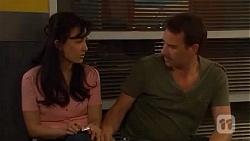 Vanessa Villante, Lucas Fitzgerald in Neighbours Episode 6604