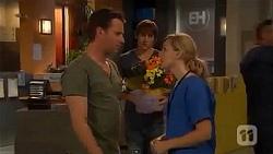 Lucas Fitzgerald, Mason Turner, Georgia Brooks in Neighbours Episode 6604