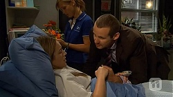 Sonya Rebecchi, Georgia Brooks, Toadie Rebecchi  in Neighbours Episode 6605