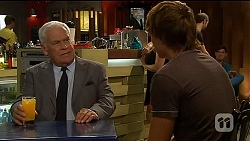 Lou Carpenter, Mason Turner  in Neighbours Episode 6605