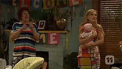 Angie Rebecchi, Baby Nell Rebecchi, Georgia Brooks  in Neighbours Episode 6605