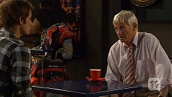 Kyle Canning, Eddie Lawson in Neighbours Episode 6605