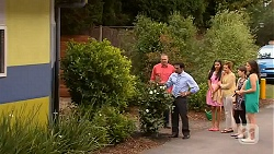 Karl Kennedy, Ajay Kapoor, Rani Kapoor, Susan Kennedy, Sophie Ramsay, Kate Ramsay in Neighbours Episode 6606