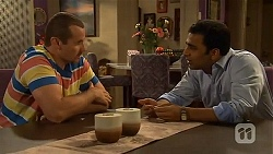 Toadie Rebecchi, Ajay Kapoor in Neighbours Episode 6607