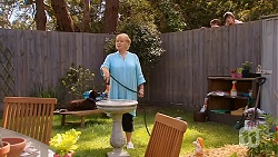 Sheila Canning, Mason Turner, Bailey Turner in Neighbours Episode 6607