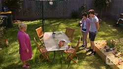 Sheila Canning, Bailey Turner, Mason Turner in Neighbours Episode 6607