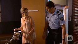 Sonya Mitchell, Matt Turner in Neighbours Episode 6608