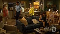 Amber Turner, Matt Turner, Lauren Turner, Mason Turner, Bailey Turner in Neighbours Episode 6608