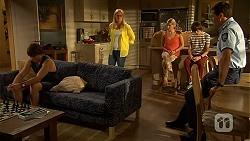 Mason Turner, Lauren Turner, Amber Turner, Bailey Turner, Matt Turner in Neighbours Episode 6608
