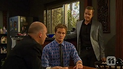 Tim Collins, Andrew Robinson, Paul Robinson in Neighbours Episode 6609