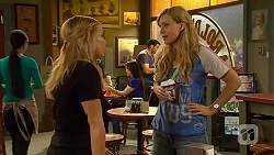 Natasha Williams, Georgia Brooks in Neighbours Episode 6609