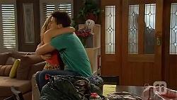 Natasha Williams, Chris Pappas in Neighbours Episode 6610