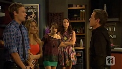 Andrew Robinson, Natasha Williams, Sophie Ramsay, Kate Ramsay, Paul Robinson in Neighbours Episode 6610