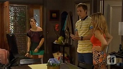 Sophie Ramsay, Andrew Robinson, Natasha Williams in Neighbours Episode 6610